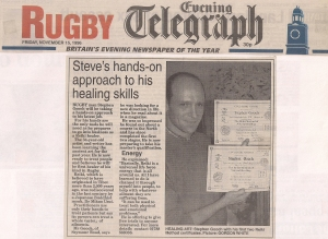 1. Rugby Evening Telegraph November 15th 1996
