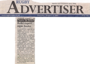 13. Rugby Advertiser January 4th 2007