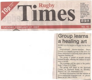18. Rugby Times February 27th 2007