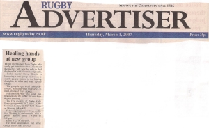 19. Rugby Advertiser March 1st 2007