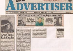 2. Rugby Advertisier November 21st 1996