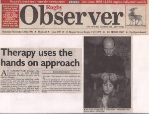 3. Rugby Observer November 28th 1996